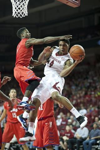 SMU Arkansas Basketball