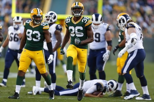 APTOPIX Rams Packers Football