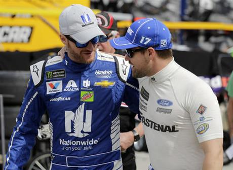 Dale Earnhardt Jr., Ricky Stenhouse Jr.