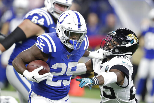 The Latest Colts Rule Out Marlon Mack With Hand Injur