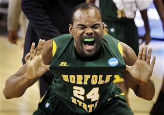 APTOPIX NCAA Norfolk St Missouri Basketball
