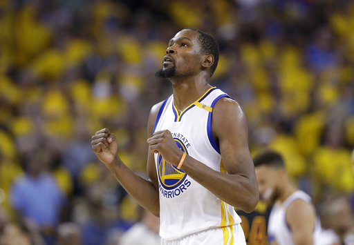 30eb4282c47 The Latest  Kevin Durant about to release his title sto ...