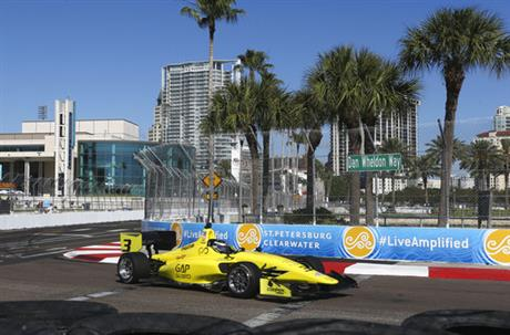 IndyCar St Petersburg GP Auto Racing
