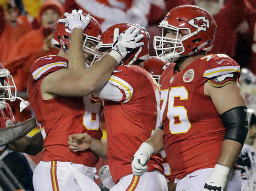 Alex Smith, Mitch Morse, Laurent Duvernay-Tardif