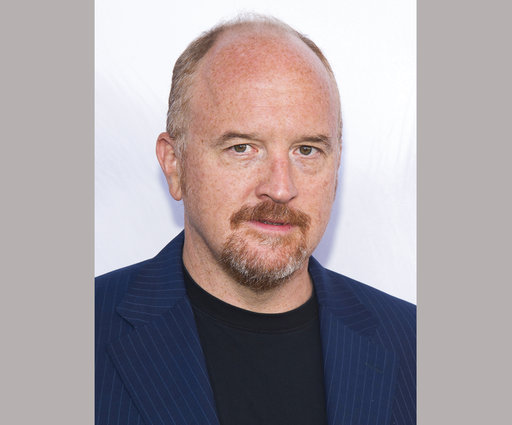 30889ca9a6f46 The Latest  Netflix scraps Louis C.K. stand up special