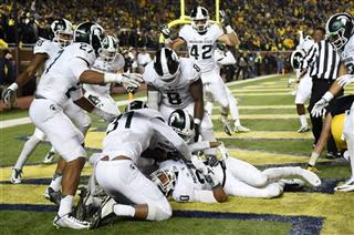 APTOPIX Michigan St Michigan Football