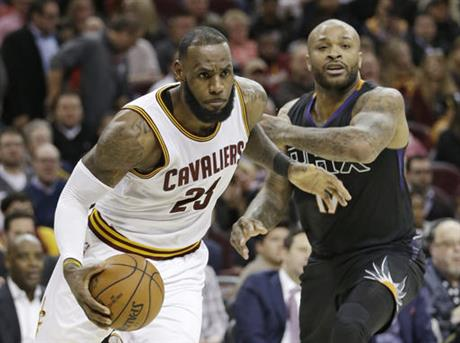 P.J. Tucker, LeBron James