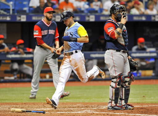 Snell Rays Win 8th Straight And Hand Red Sox 1st Sweep