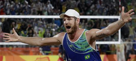 APTOPIX Rio Olympics Beach Volleyball Men
