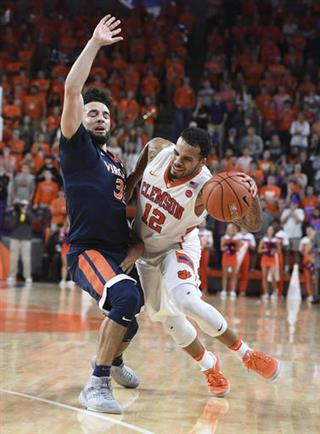 basketball, 2017, clemson, virginia