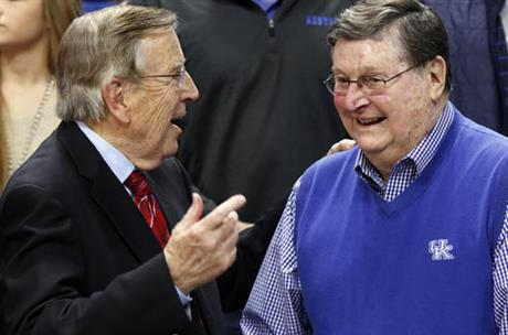 Brent Musburger, Joe B. Hall