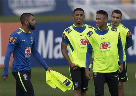 Neymar, Gabriel, Gabriel Jesus, William