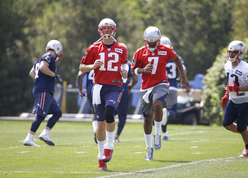 Tom Brady, Jacoby Brissett
