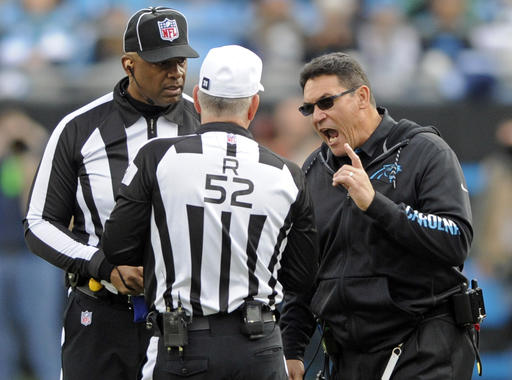 Ron Rivera, Bill Vinovich