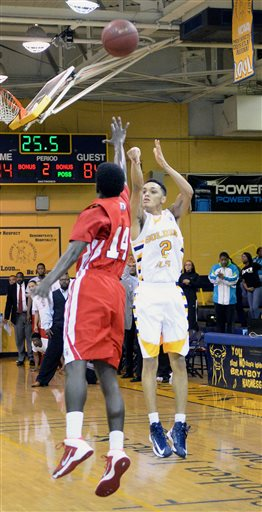 Winston Salem St Johnson C Smith Basketball