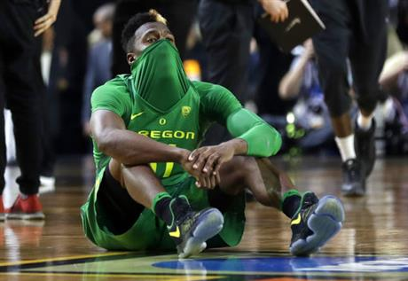 Final Four Oregon North Carolina Basketball