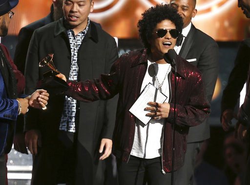 Bruno Mars Wins The Top Prize At The Grammy Awards: Details