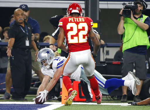 Cole Beasley, Marcus Peters