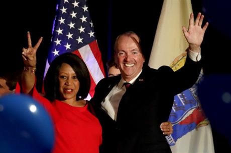 Phil Murphy, Sheila Oliver
