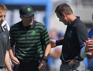 Mark Helfrich, Jim Mora