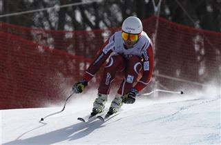 South Korea SKI WCup Men's Downhill Training