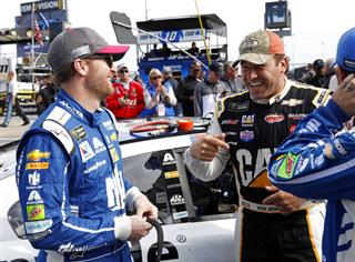 Dale Earnhardt Jr. Ryan Newman