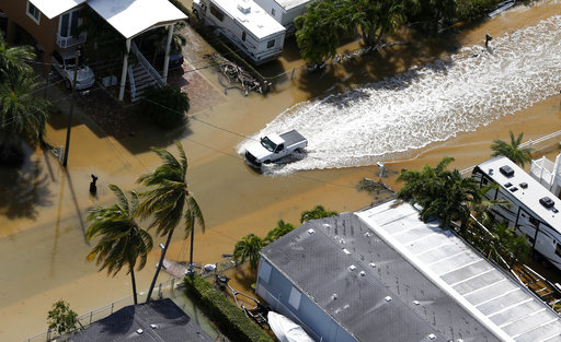 The Latest Georgia Coast Sees Extensive Flooding From