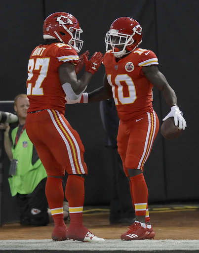 Tyreek Hill, Kareem Hunt