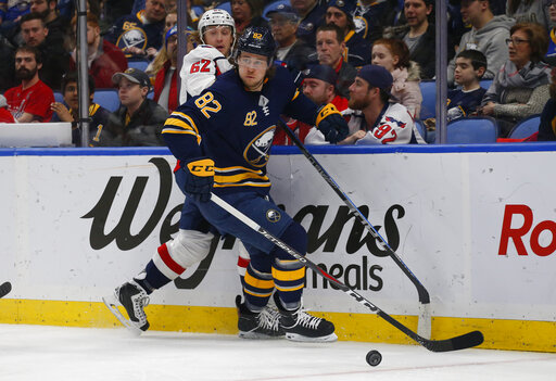 d6b811520fb The Latest: AP source: Sabres deal Beaulieu to Jets | AccessWDUN.com