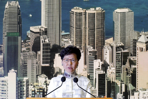Hong Kong leader delays unpopular bill