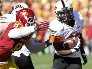 Oklahoma St Roland Run Football