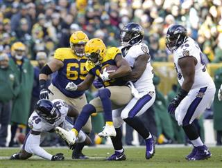 APTOPIX Ravens Packers Football
