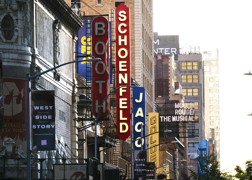 The Latest: Broadway theater to remain shut down throug...