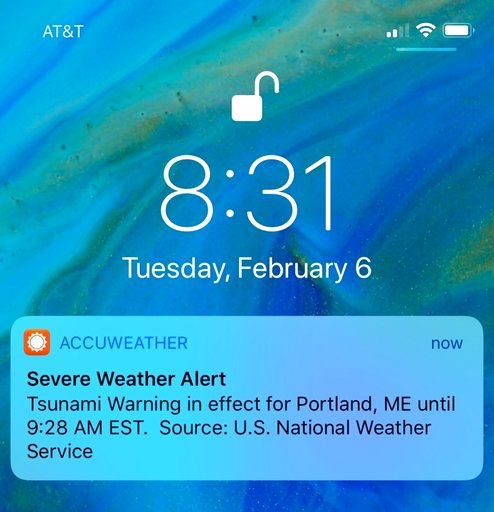 AccuWeather blames weather service for bogus tsunami wa