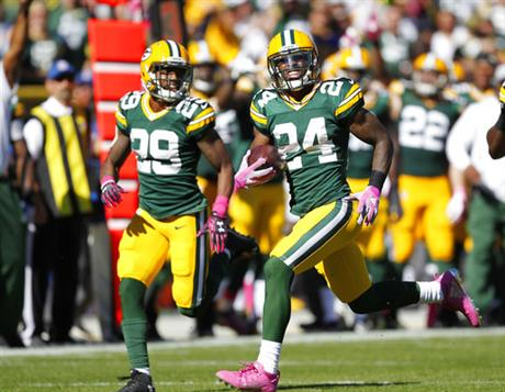 Packers Cornerbacks Football
