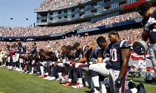 Patriots Protest Football