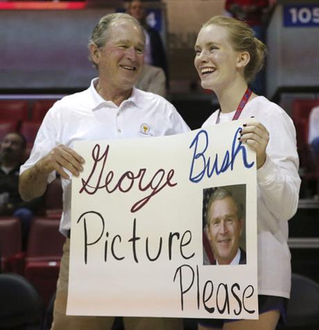 Jillion Prescott, George W. Bush