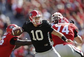 Georgia QB Competition Football