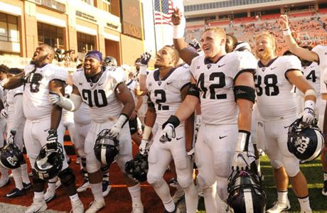 TCU Oklahoma St Football