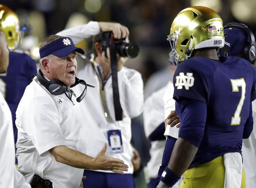 Brian Kelly, Brandon Wimbush