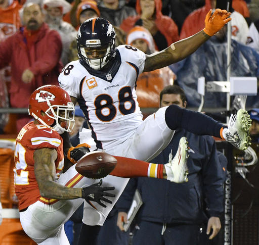 Demaryius Thomas, Marcus Peters