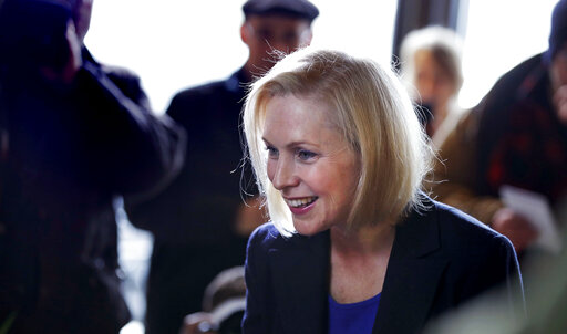 The Latest Gillibrand Accuses Trump Of Dividing People Accesswdun