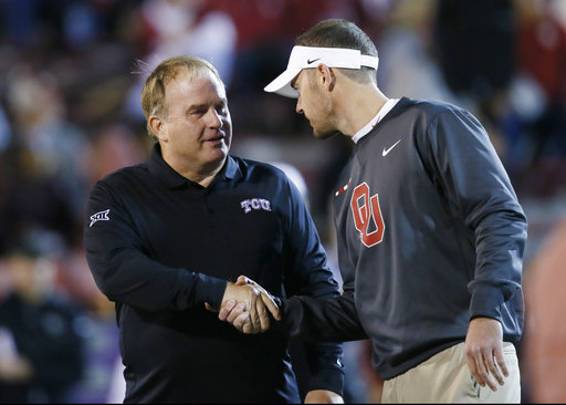 Gary Patterson, LIncolnRiley
