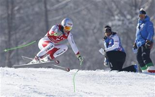 South Korea Ski WCup Men's Super G