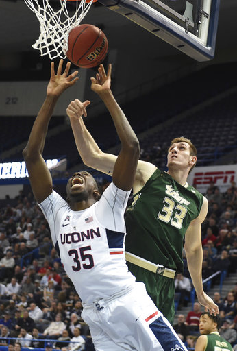 AAC USF UConn Basketball