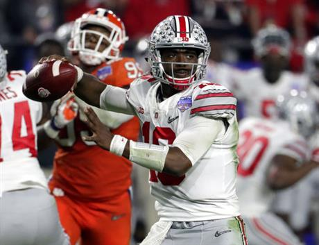 Ohio State-A Better Barrett Football