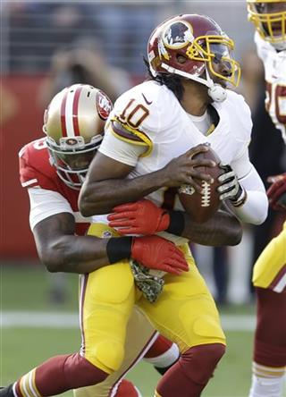 Robert Griffin III, Aldon Smith