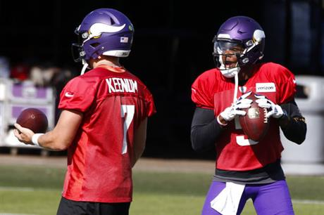 Teddy Bridgewater, Case Keenum