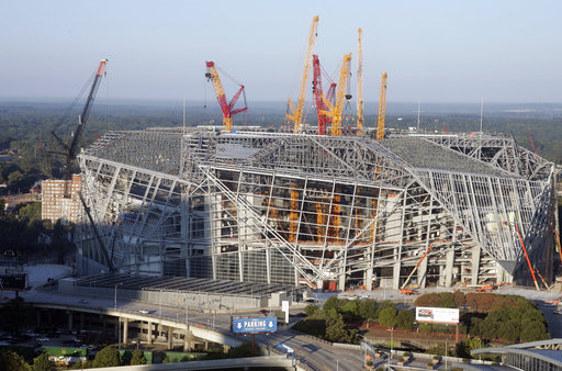 A New Stadium Rises