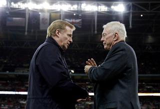 Roger Goodell, Jerry Jones